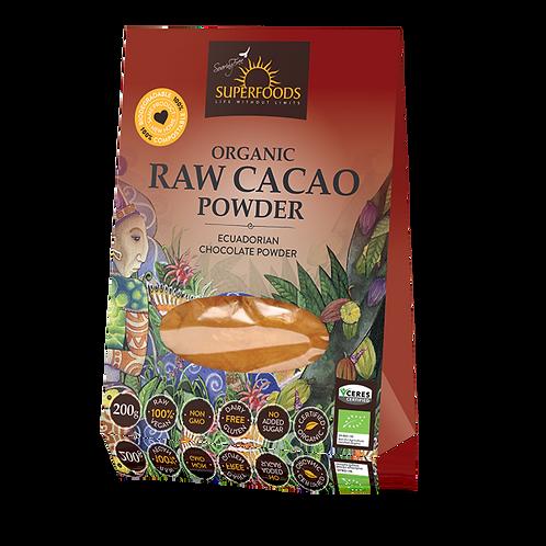 Organic Raw Cacao Powder - Soaring Free Superfoods