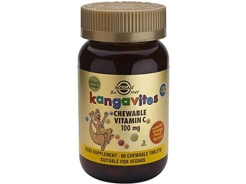 Kangavites 90 Chewable Vitamin C for Kids - Solgar