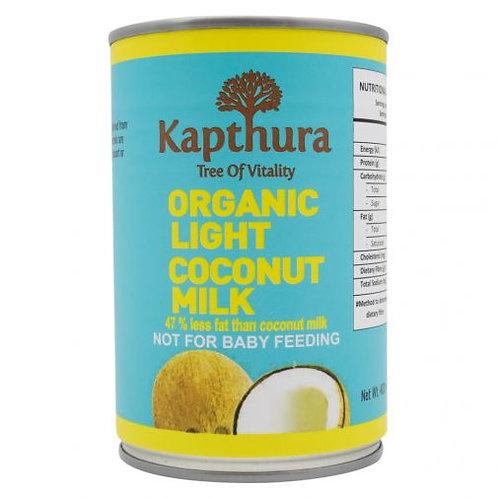 Organic Light Coconut Milk - Kapthura