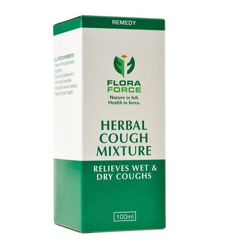 Herbal Cough Mixture 100ml - Flora Force