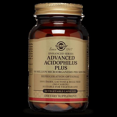 Advanced Acidophilus Plus 60 Capsules - Solgar