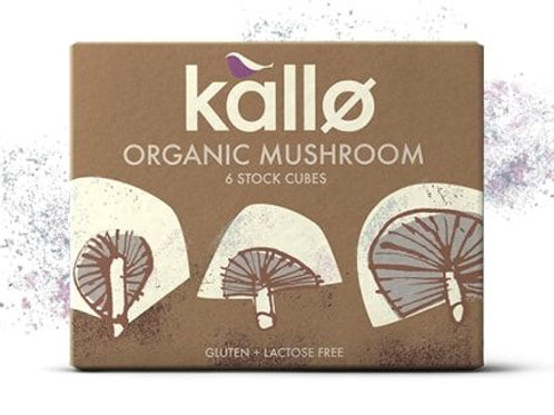 Organic Mushroom Stock Cubes - Kallo