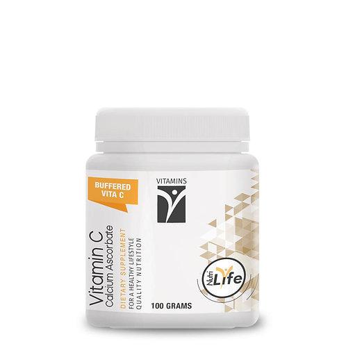 Calcium Ascorbate Vitamin C Powder 100g - Nutri Life