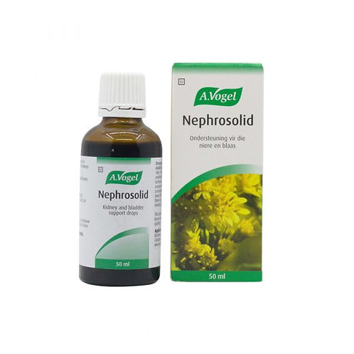 Nephrosolid Tincture 30ml - A Vogel
