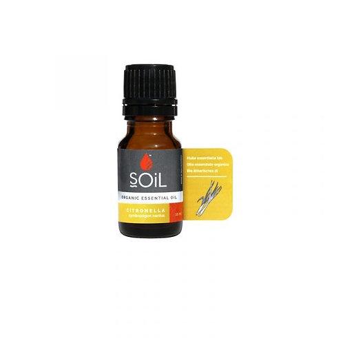 Organic Citronella Essential Oil - Soil