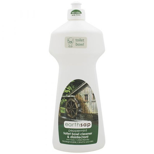 Peppermint Toilet Bowl Cleaner and Disinfectant - Earth Sap