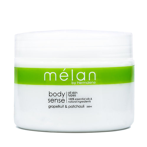 Grapefruit & Patchouli Body Cream - Melan