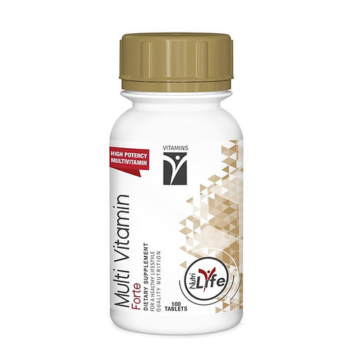 Multi Vitamin Forte 100 Tablets - Nutri Life