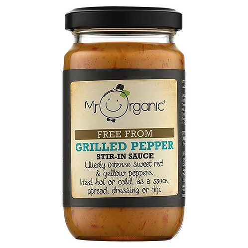 Free From Grilled Pepper Stir-in Sauce - Mr Organic