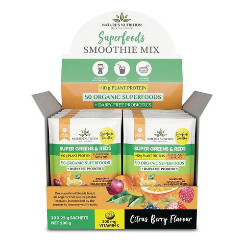 Citrus Berry Superfood Mix Sachets - Nature's Nutrition