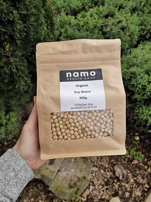 Organic Soya Beans - Namo Health