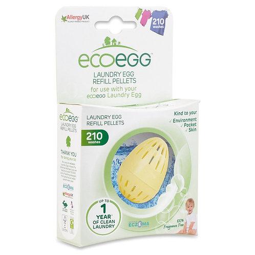 Fragrance Free Laundry Egg Refill Pellets - Eco Egg