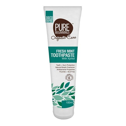 Fresh Mint Toothpaste 100ml - Pure Beginnings