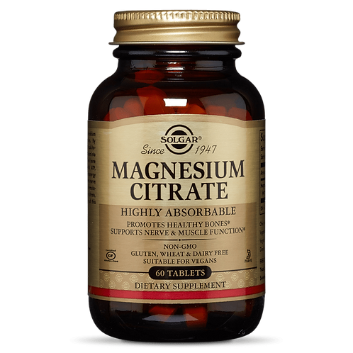 Magnesium Citrate Tablets - Solgar