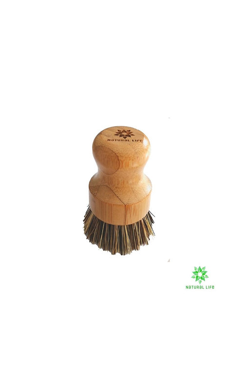 All Natural Palm Cleaning Brush - Natural Life