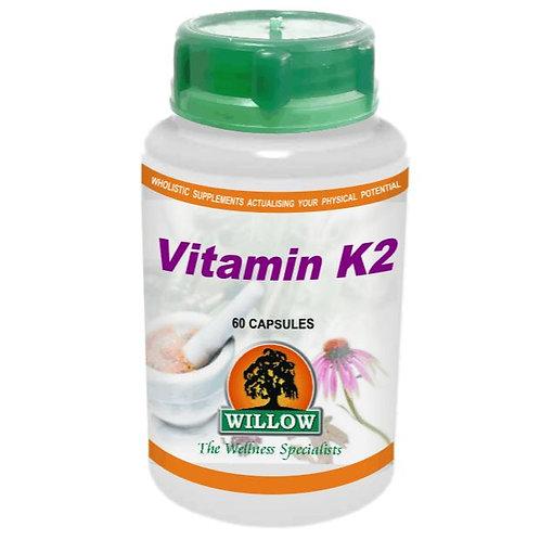Vitamin K2 Capsules - Willow