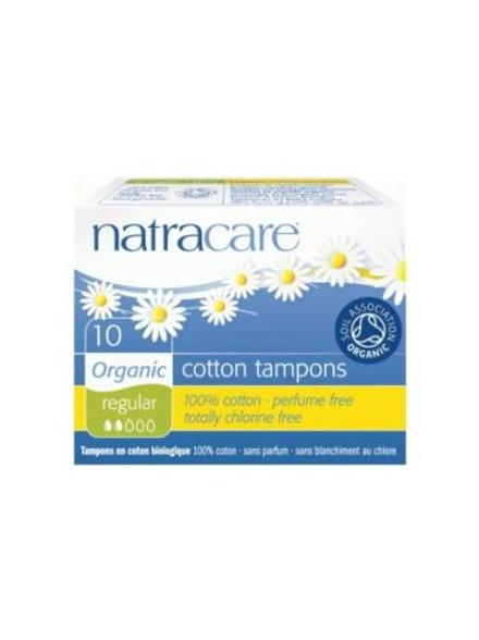 Organic Cotton Tampons (Regular) - Natracare