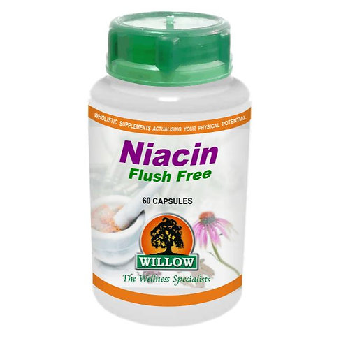 Niacin Flush Free Capsules - Willow