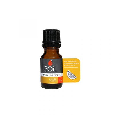 Organic Lemon Essential Oil - Soil