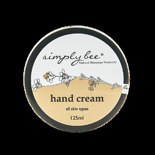 Hand Cream 125ml - Simply Bee
