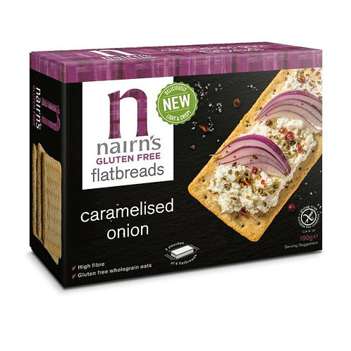 Caramelised Onion Gluten Free Flatbread - Nairns