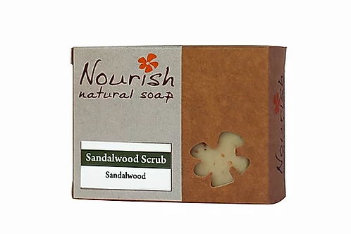 Sandalwood Scrub  - Nourish Natural Soap
