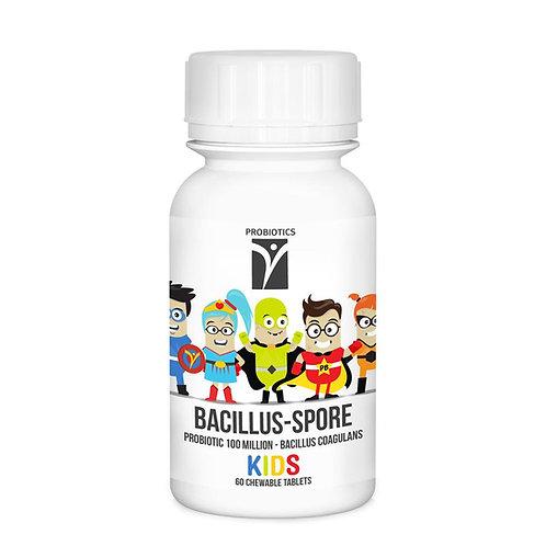 Kids Bacillus Spore Chewable 60 Tablets - Nutri Life