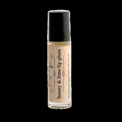 Honey & Lime Lip Gloss - Simply Bee