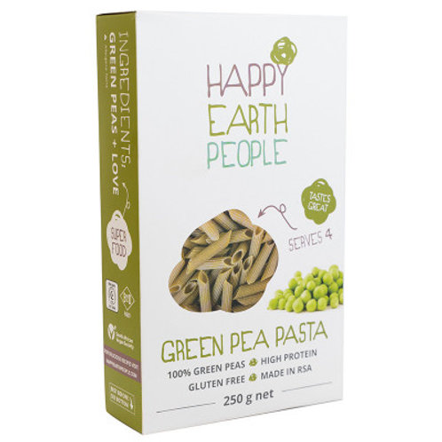 Green Pea Pasta - Happy Earth People