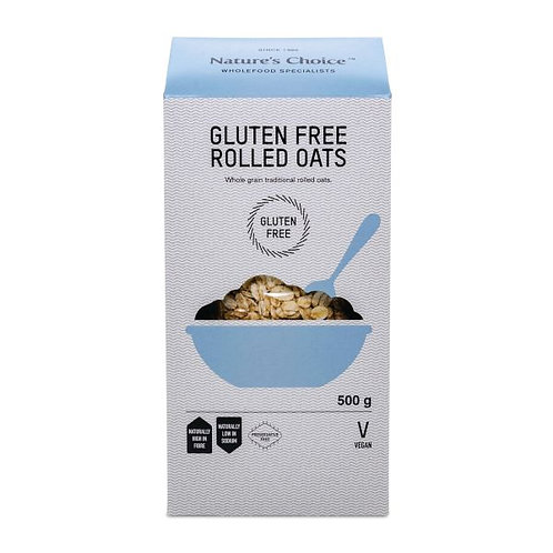 Gluten Free Rolled Oats 500g - Nature's Choice