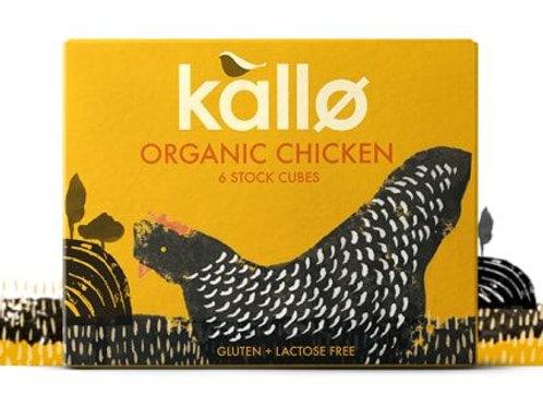 Organic Chicken Stock Cubes - Kallo