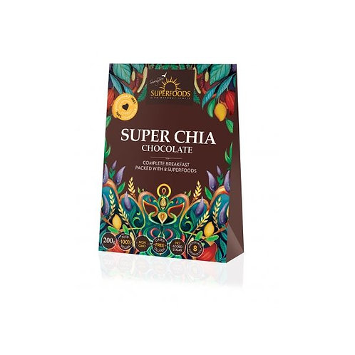 Super Chia Chocolate 200g - Soaring Free Superfoods