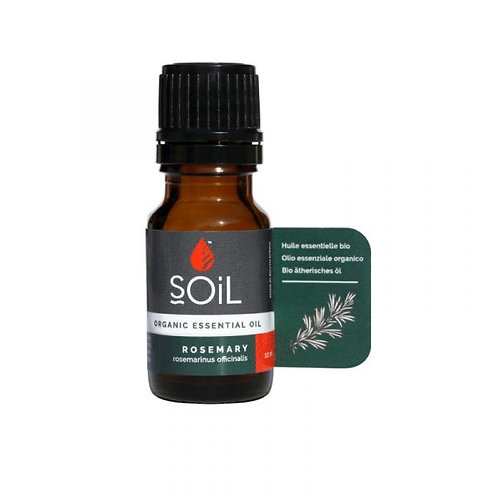 Organic Rosemary Essential Oil - Soil