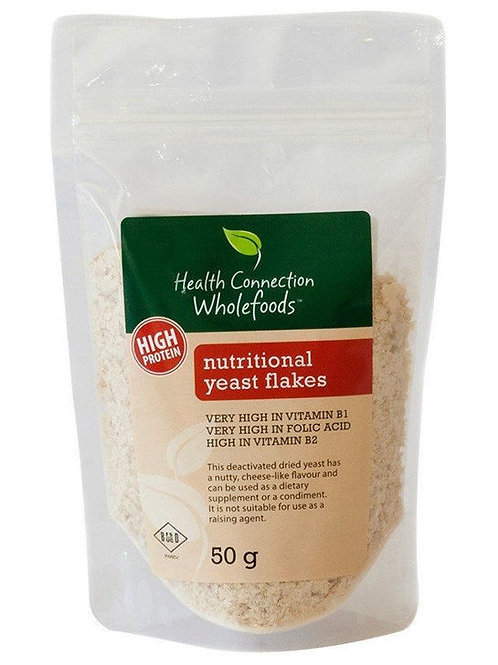 Nutritional Yeast Flakes 50g- Health Connectiion