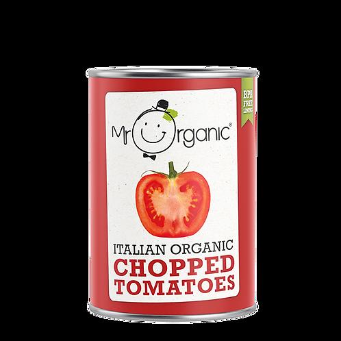 Organic Italian Chopped Tomatoes - Mr Organic