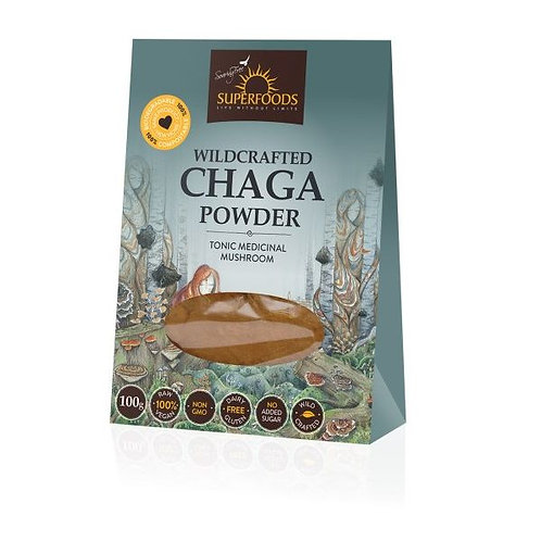 Chaga Powder - Soaring Free Superfoods