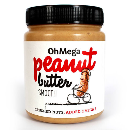 Smooth Peanut Butter - Oh Mega