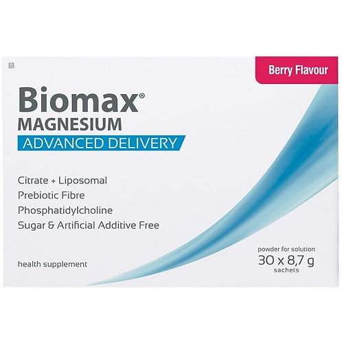 Magnesium Powder Sachets (Berry Flavour) - Biomax