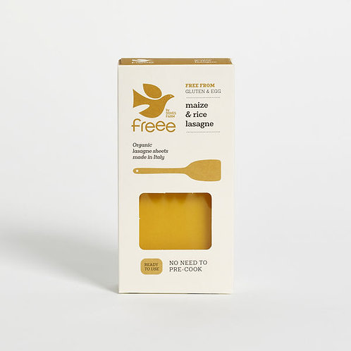 Organic Maize & Rice Lasagne Sheets - Freee