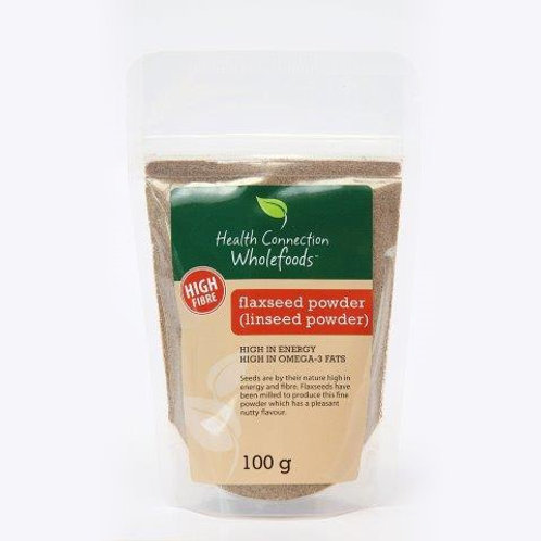 Flaxseed Powder (Linseed) 100g - Health Connection