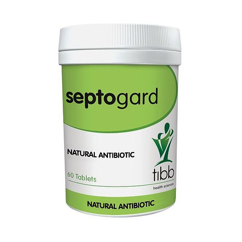 Septogard Natural Antibiotic 60 Tablets - Tibb