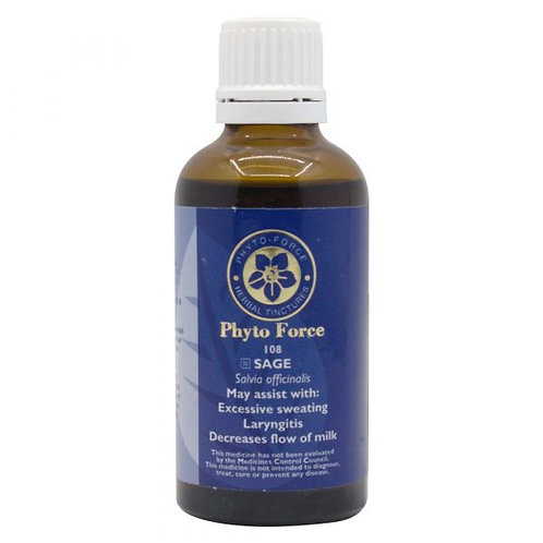 Sage Tincture 50ml - Phyto Force