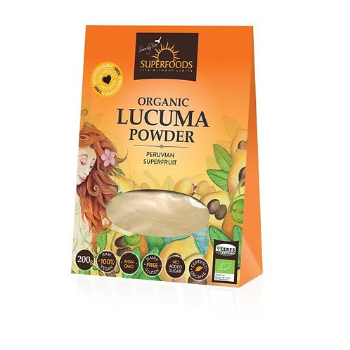 Lucuma Powder 200g - Soaring Free Superfoods