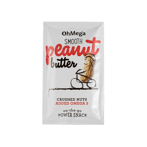 Smooth Peanut Butter Sachet - Oh Mega