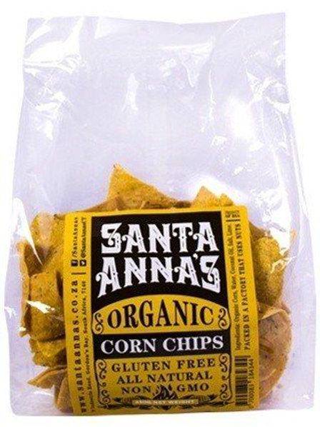 Organic Corn Chips - Santa Annas