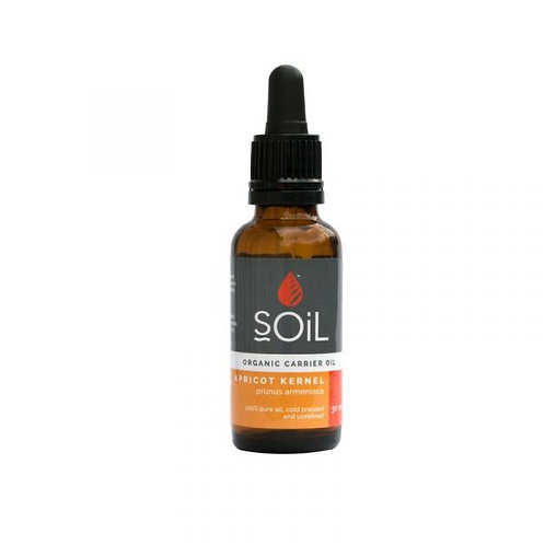 Organic Apricot Kernel Oil 30ml - Soil