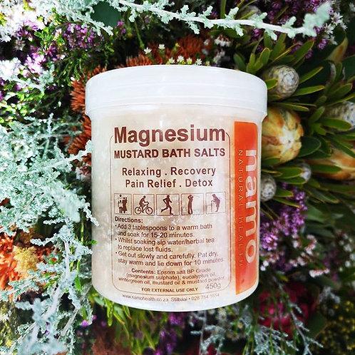 Magnesium Mustard Bath Salt - Namo