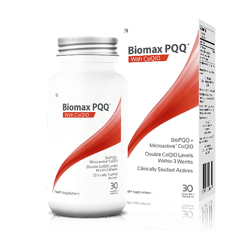PQQ with CoQ10 Capsules - Biomax