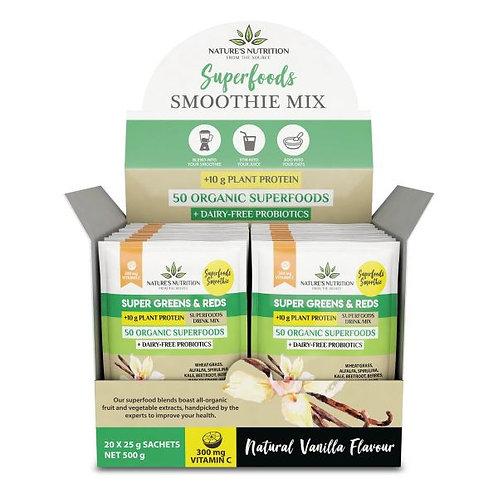 Vanilla Superfood Mix Sachets - Nature Nutrition