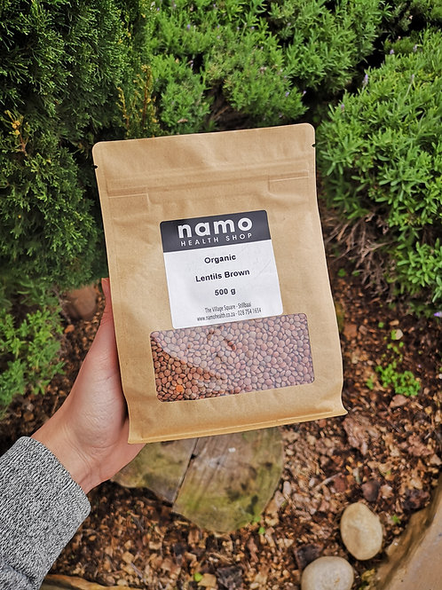 Organic Brown Lentils - Namo Health